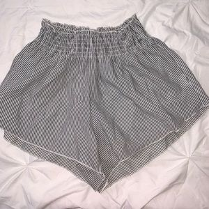 Brandy Melville Striped Shorts